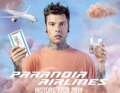 album fedez firmacopie Paranoia Airlines perugia quasar village tour eventiecultura