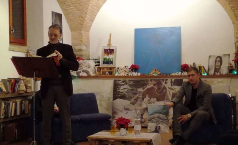 """Emozioni a Corciano per """"Ninos"""", il libro di Nicola Mariuccini"""