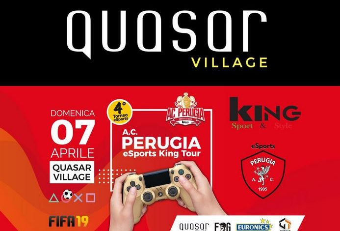 fifa19 Perugia Esports King Tour Playstation tappa torneo eventiecultura