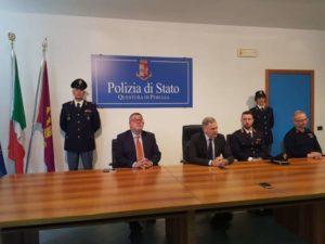 perugia polizia prevenzione questore reati sicurezza glocal