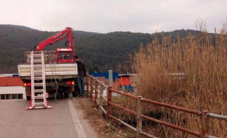 cantiere cantiere comunale ponte strada cronaca