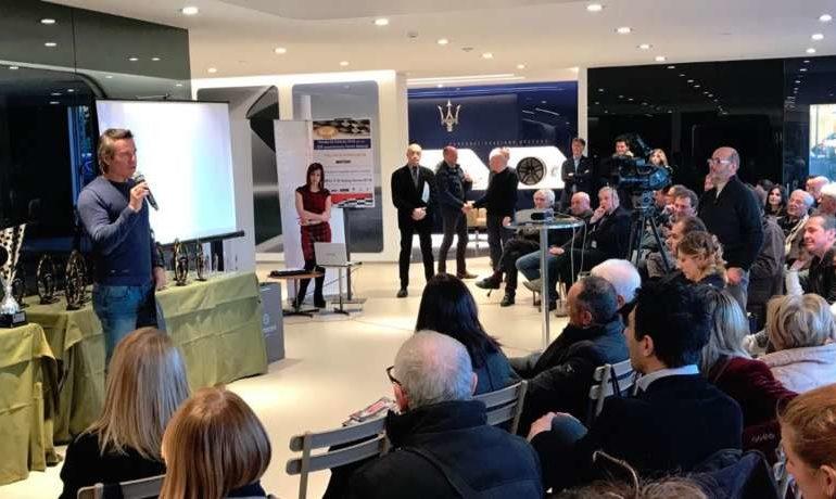 concessionaria de poi Jimmy Ghione linea motori motori Motorsport Supercup volante d'oro sport