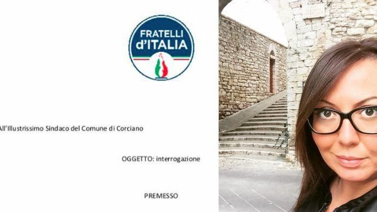 #fratelliditalia Alessia Ottaviani assessore fd'i nomina politica