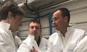 Innovare fra tecnologia e qualità: visita istituzionale alla Sterling di Solomeo