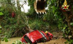 Ritrovato il corpo del 75enne scomparso: il Caina lo ha trascinato fino al ponte di Capanne