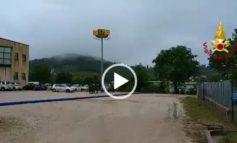 Maltempo: idrovora in azione a Taverne di Corciano