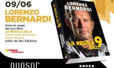 Lorenzo Bernardi presenta il suo libro al Quasar Village