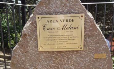Area Verde intitolata a Enzo Melani: tanta gente all'ex Colonia di Corciano