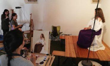 Dagli USA a Corciano per perfezionarsi: undici artisti seguono i corsi di due maestri ritrattisti