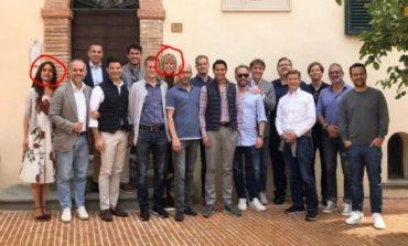 La foto dei big californiani a Solomeo diventa un caso internazionale: è photoshoppata
