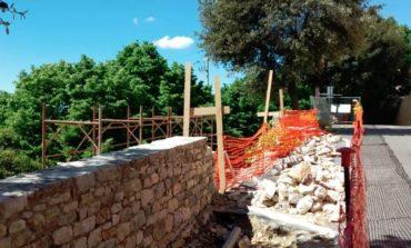 Mura castellane di Corciano: dopo lo stop, i lavori possono ripartire