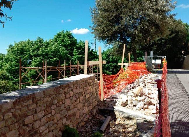 cinta muraria lavori pubblici mura castellane corciano-centro cronaca