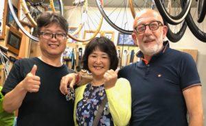 Bahrain Merida chiahru ciclismo cicloturismo franco testi giappone olimpiadi Yukiya Arashiro cronaca