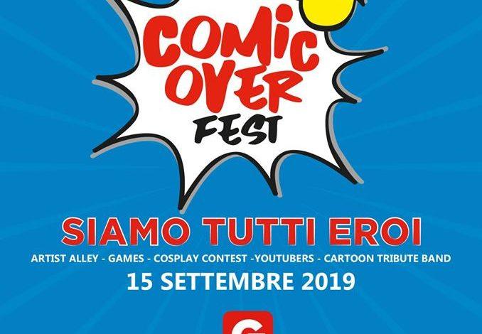 """Arriva Comic Over Fest una """"giornata da eroi"""" al Gherlinda di Corciano"""