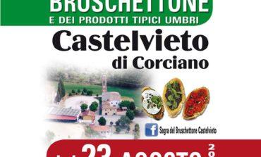 Al via la Sagra del Bruschettone a Castelvieto