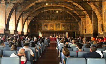 Giovanissimi corcianesi alle finali del Trofeo Coni in Calabria, la cerimonia di presentazione