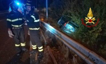 Incidente stradale vicino al raccordo: due feriti in ospedale