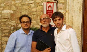 Cestini per la raccolta differenziata nel borgo di Corciano, accolta mozione della Lega