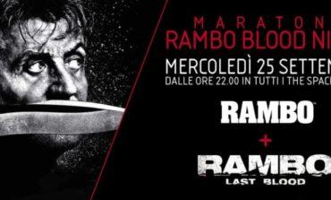 """Maratona Rambo, la """"Blood Night"""" al cinema The Space"""