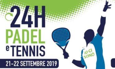 Torna la 24 ore di Padel e Tennis al centro Sportivo Tennis Chiugiana