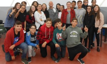Il campione Federico Morlacchi incontra gli alunni dell'Istituto Bonfigli