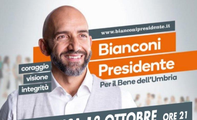 Elezioni Regionali, tappa a Corciano per Vincenzo Bianconi alla Commenda