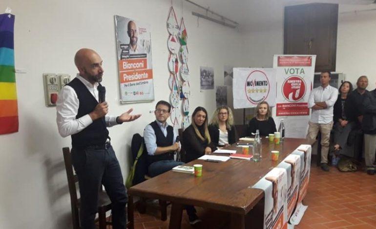 elezioni regionali m5s patto civico pd psi Sinistra Civica Verde vincenzo bianconi politica san-mariano