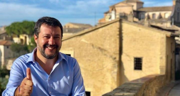 27 ottobre donatella tesei elezioni regionali lega Matteo Salvini politica