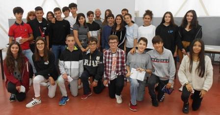 Federico morlacchi incontro scuola sport studenti sport