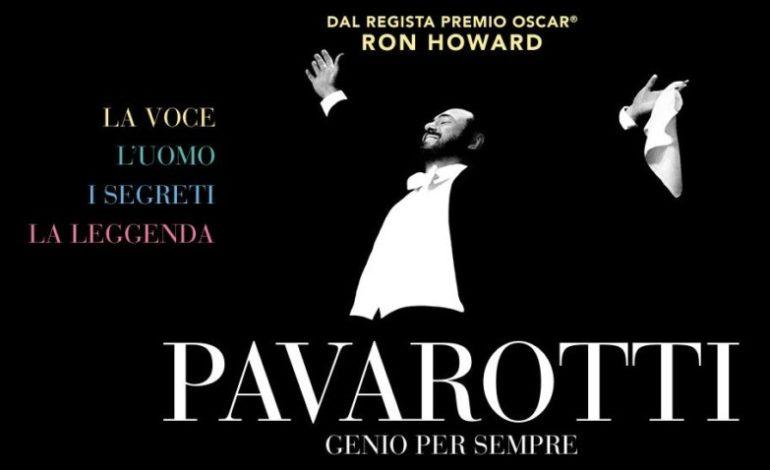lirica pavarotti Ron Howard the space cinema eventiecultura