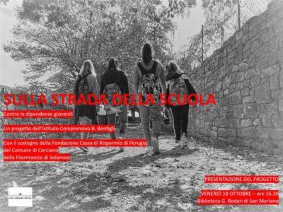 dipendenze filarmonica di solomeo istituto bonfigli scuola street band cronaca