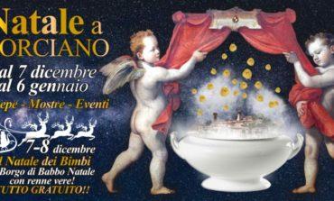 """Arriva """"Natale a Corciano"""" dal 7 dicembre al 6 gennaio"""