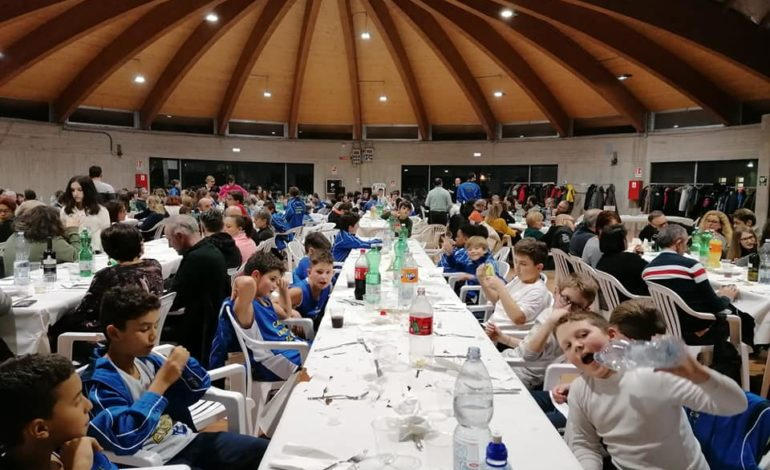 cena ellera natale pallacanestro ellera-chiugiana eventiecultura