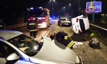Incidente nella notte a Ellera di Corciano