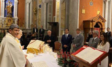 Il rettore Maurizio Oliviero si sposa a Solomeo con un testimone d'eccezione