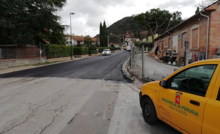 Bitumature a Corciano, Perugia e Torgiano: l'annuncio della consigliera provinciale Borghesi