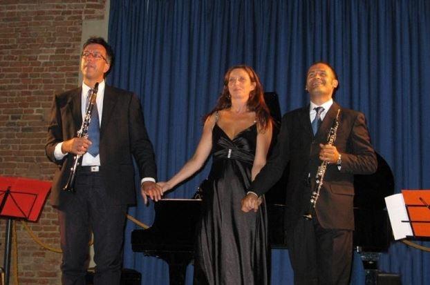 art gallery trio musica note di viaggio eventiecultura