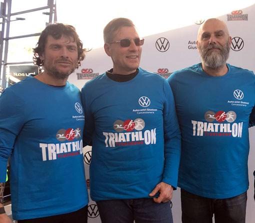 Luca Aiello è pronto all'Ironman: l'atleta non vedente sarà guidato da Simone Cavallini