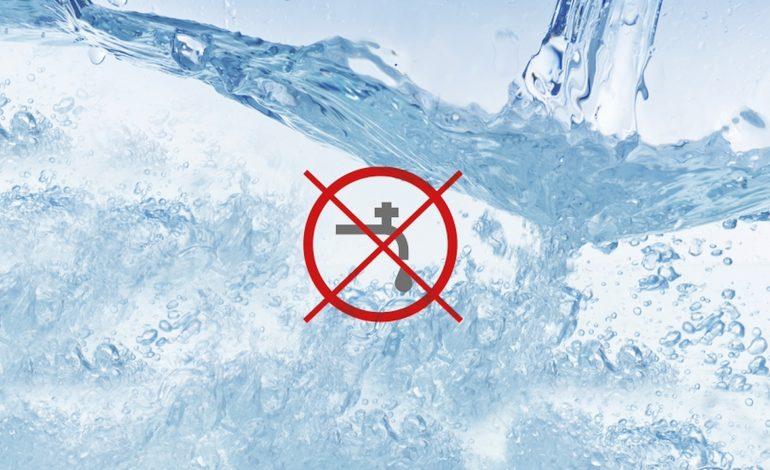 Senz'acqua lunedì mattina: ecco le zone interessate dal disservizio