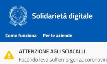 """La """"Solidarietà digitale"""" che funziona in tempi di emergenza sanitaria, Braconi: """"A breve anche a Corciano"""""""