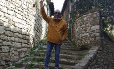 Alla ricerca del set ideale, l'attore e regista Tony Morgan fa tappa a Corciano