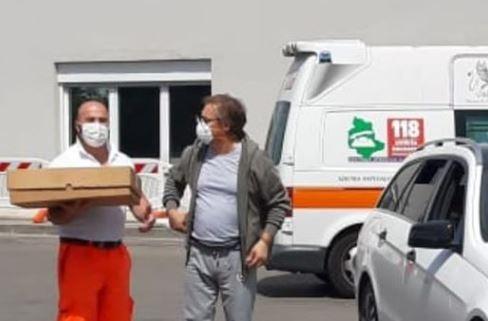 coronavirus covid 19 donazione ospedale rosticceria ellera cronaca ellera-chiugiana