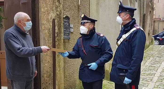 carabinieri pensione glocal