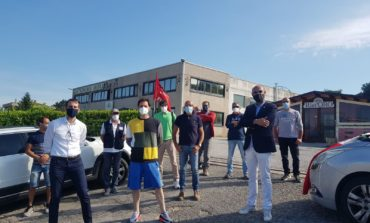 La Lega visita i lavoratori della Gastronomia Umbra in picchetto