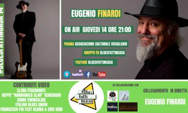 Bluesfattincasa: Eugenio Finardi ospite virtuale dell'associazione corcianese