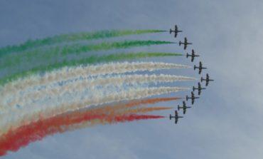 Lo spettacolo delle Frecce Tricolori abbraccia l'Umbria per la Festa della Repubblica