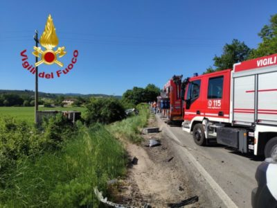 camion incidente trattore cronaca mantignana migiana