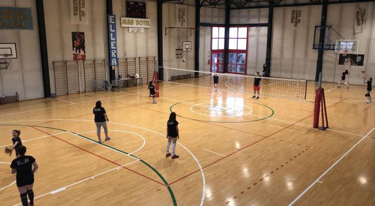 allenamento ellera volley pallavolo volley ellera-chiugiana sport