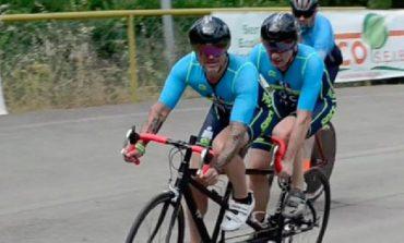 Il tandem è pronto: Luca Aiello parteciperà all'Ironman di Cervia insieme a Simone Cavallini