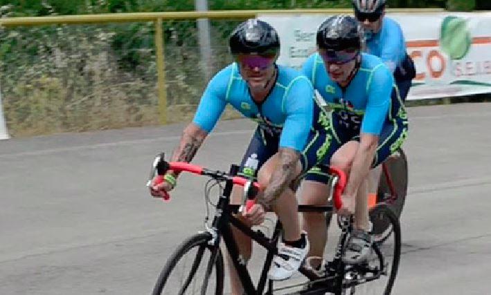 ciclismo corsa ironman luca aiello nuoto running tandem Triathlon Elephant Trasimeno sport
